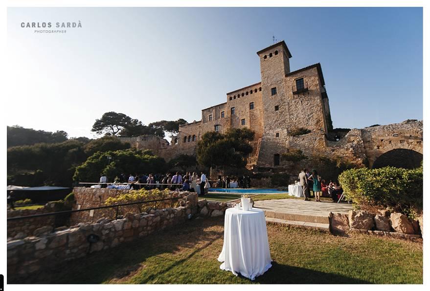 Tamarit castle wedding planning and catering in tarragona - Casa miret tarragona ...